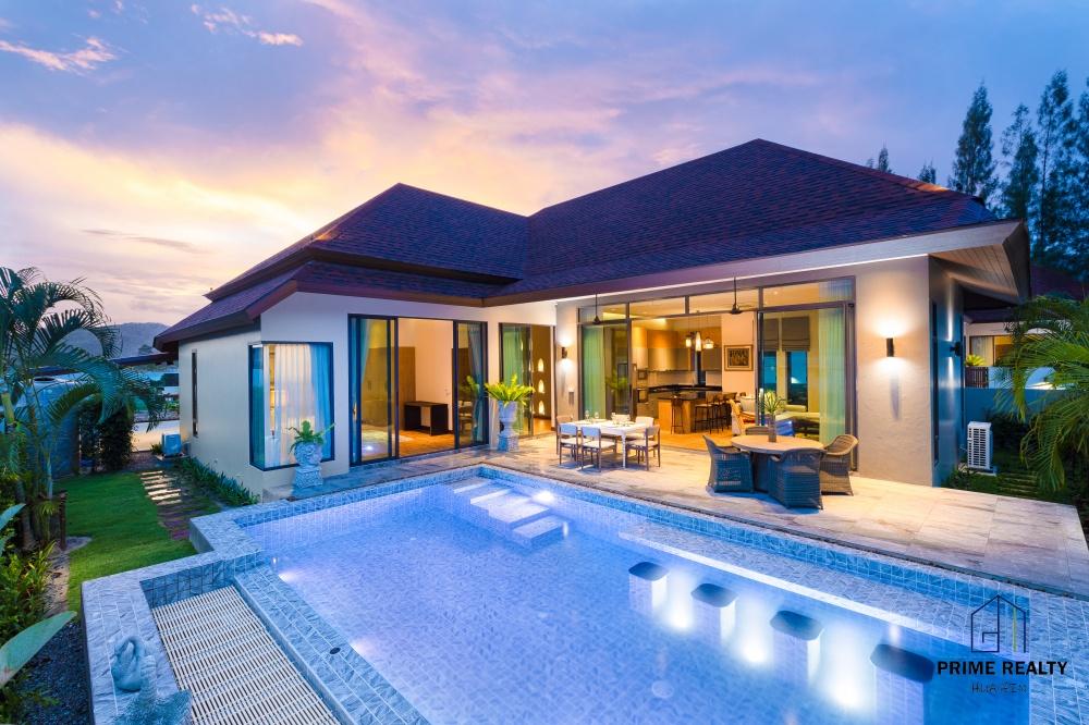 ขายบ้านหรูสไตล์บาหลีรีสอร์ท Luxury Bali Pool Villa Near Golf Club