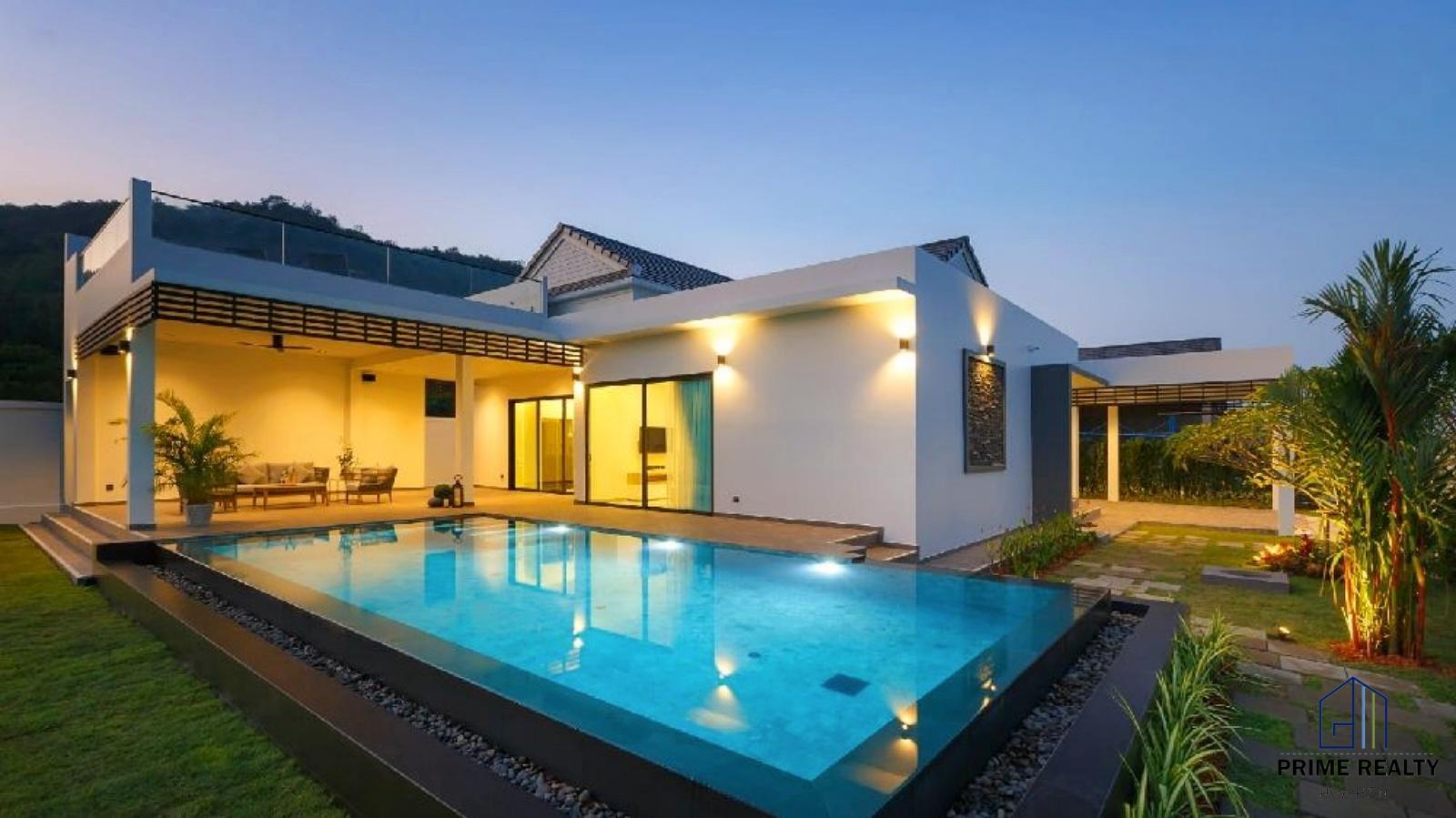 Modern Luxury Pool Villa ขายบ้านหรูพร้อมบริการแบบโรงแรม