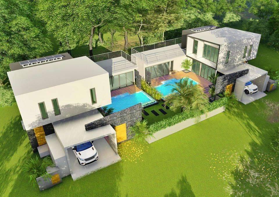 ขายบ้านใกล้ทะเลหาดตะเกียบหัวหิน Near Beach Modern Pool Villa For Sale