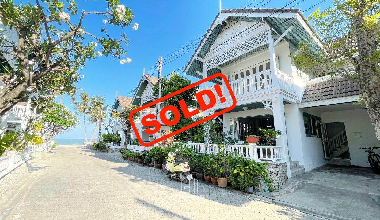 SOLD!! ขายแล้ว!! บ้านริมหาดหัวหิน House Near Beach Huahin