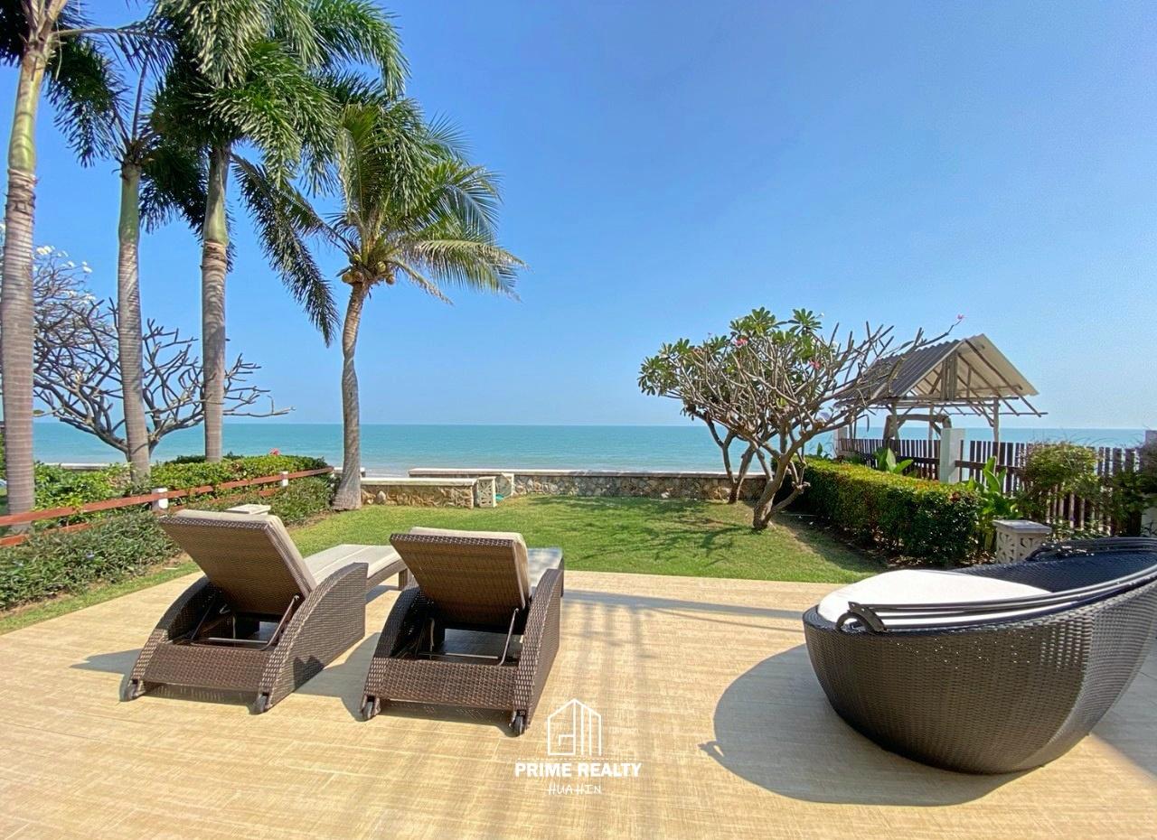 ขายบ้านติดทะเลชะอำ Beachfront Chaam For Sale