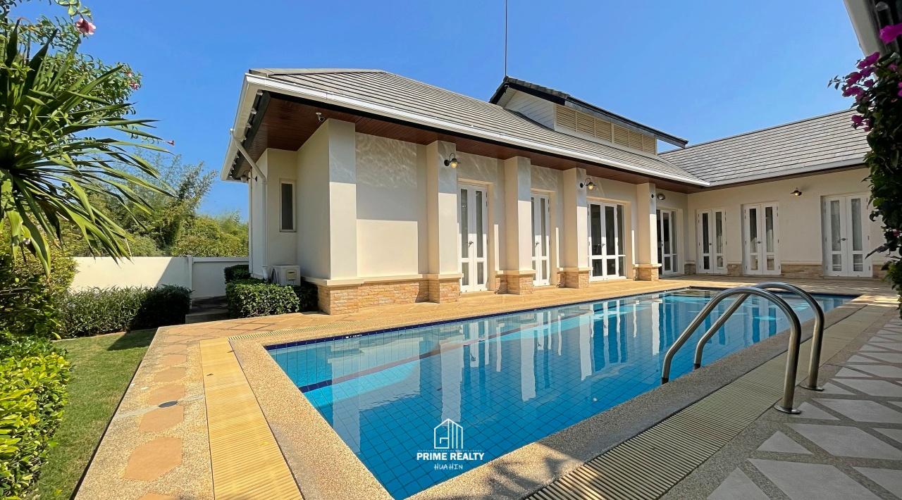 Bali Pool Villa Hua Hin For Rent ให้เช่าบ้านสวยสไตล์บาหลี