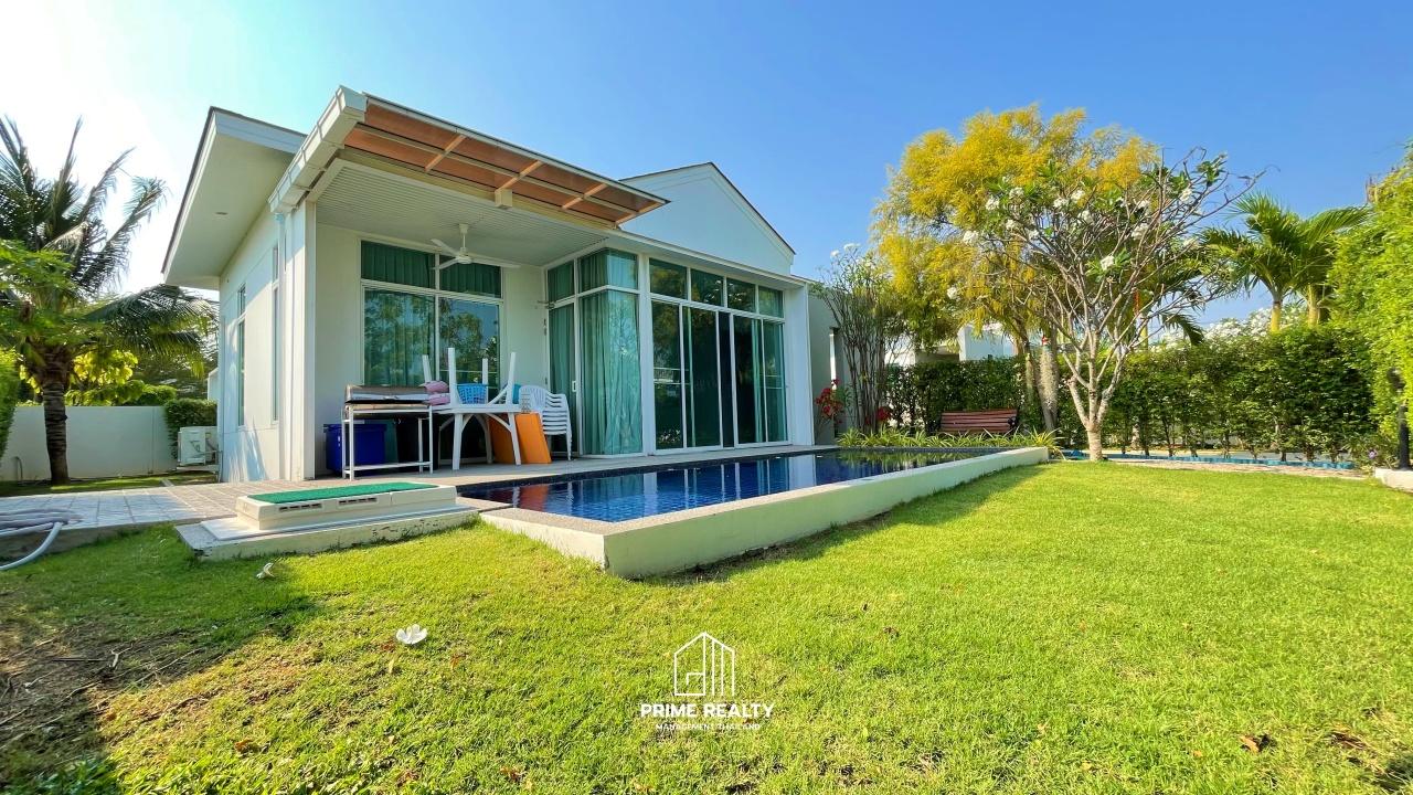 ขายพูลวิลล่าชะอำ Pool Villa Chaam For Sale