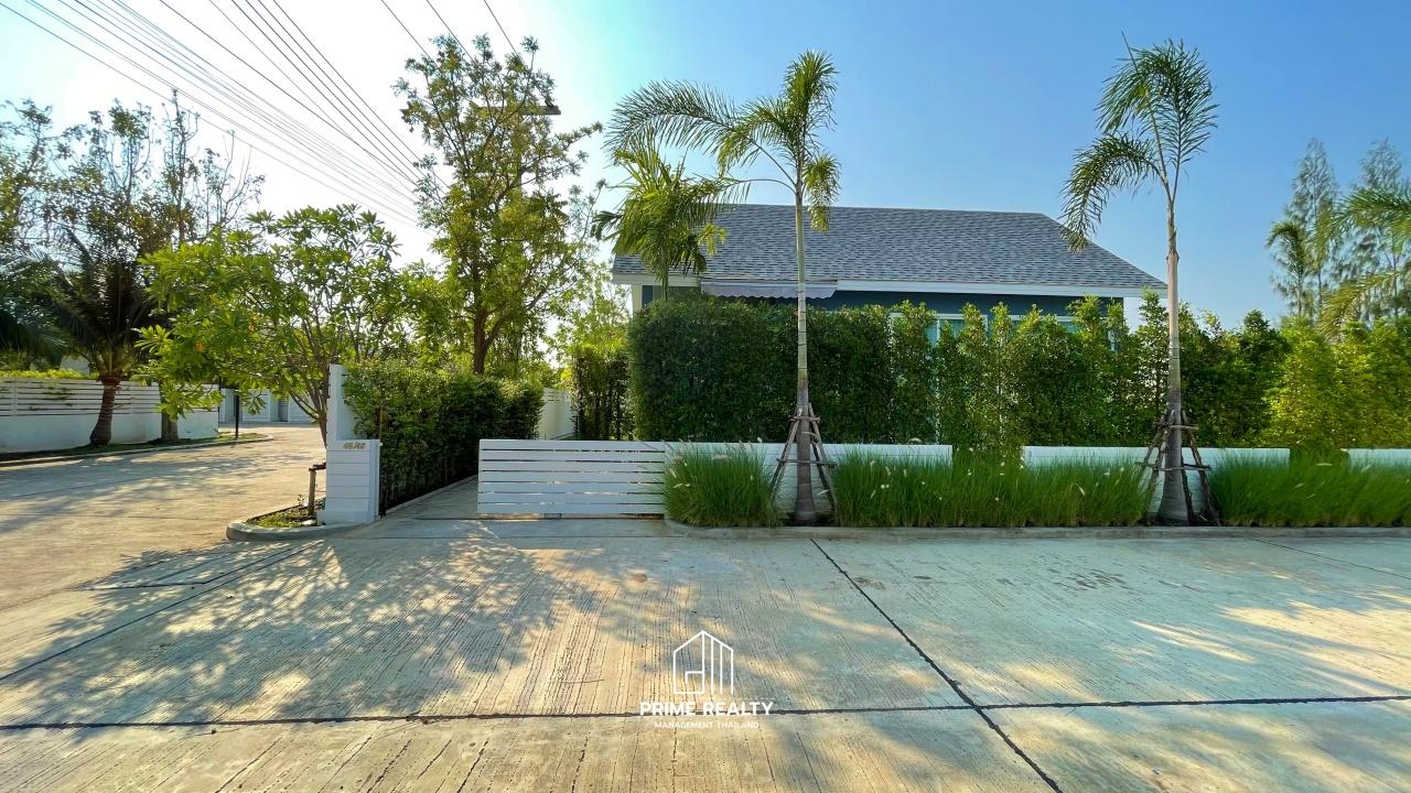 บ้านเดี่ยวสไตล์ poolvilla ชะอำ Pool Villa Chaam For Sale