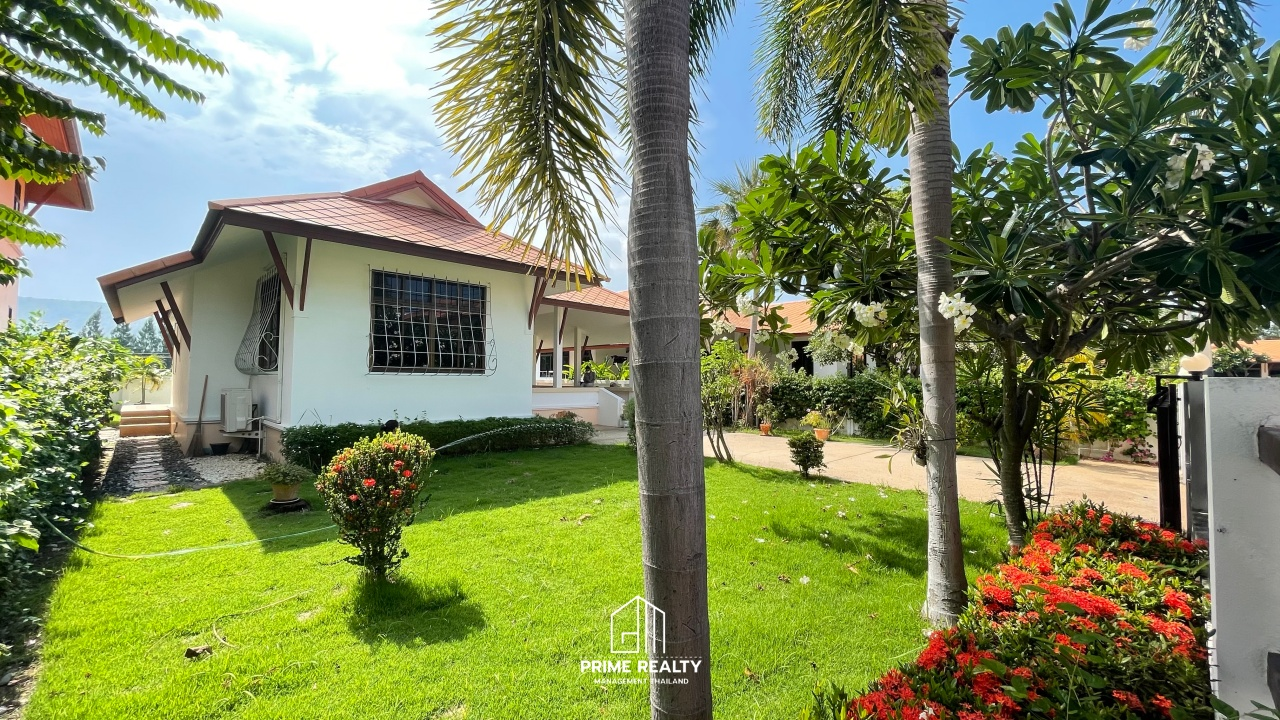 ขายบ้านใกล้ทะเลเขาตะเกียบเพียง 500 เมตร Near Beach House For Sale