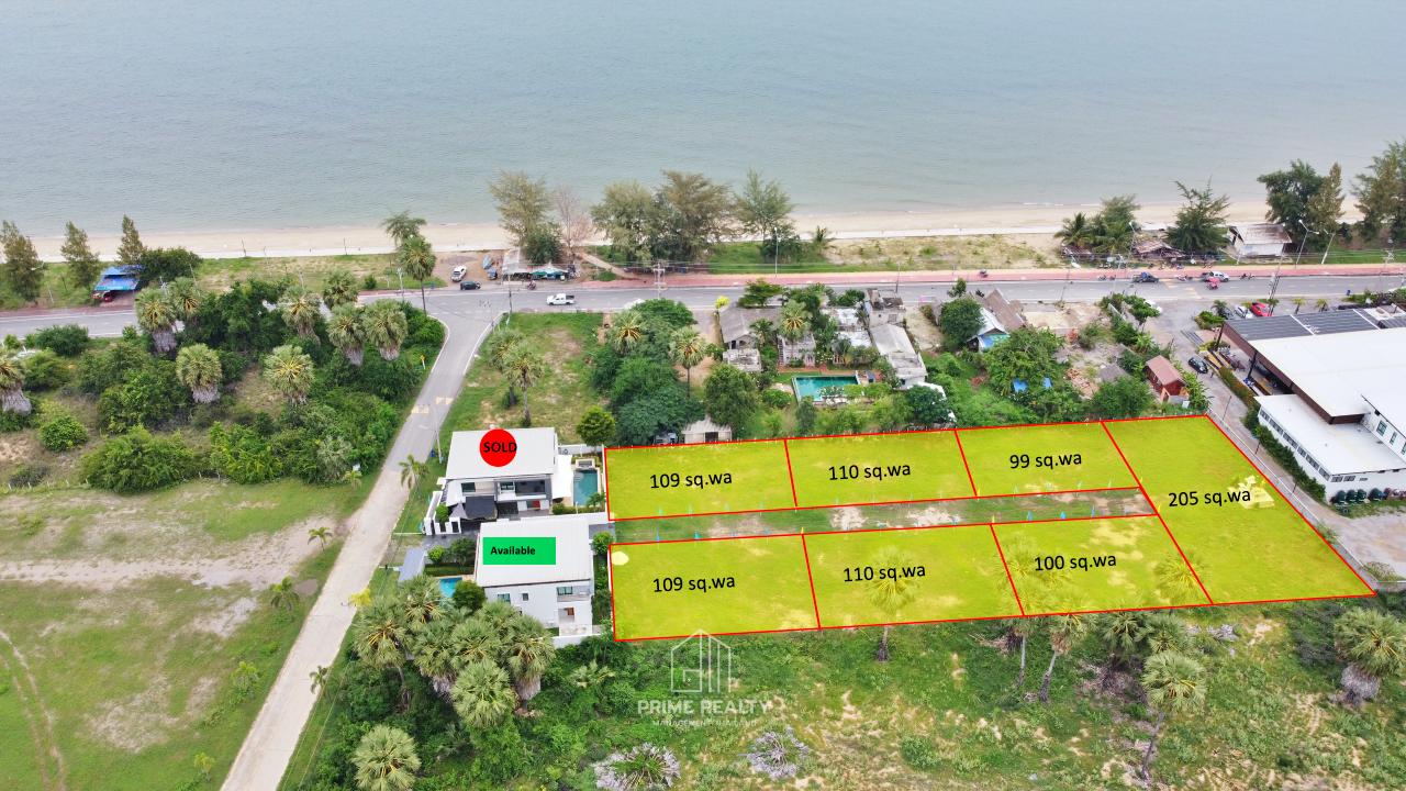 ขายที่ดินใกล้ทะเลปราณ Near Beach Land For Sale