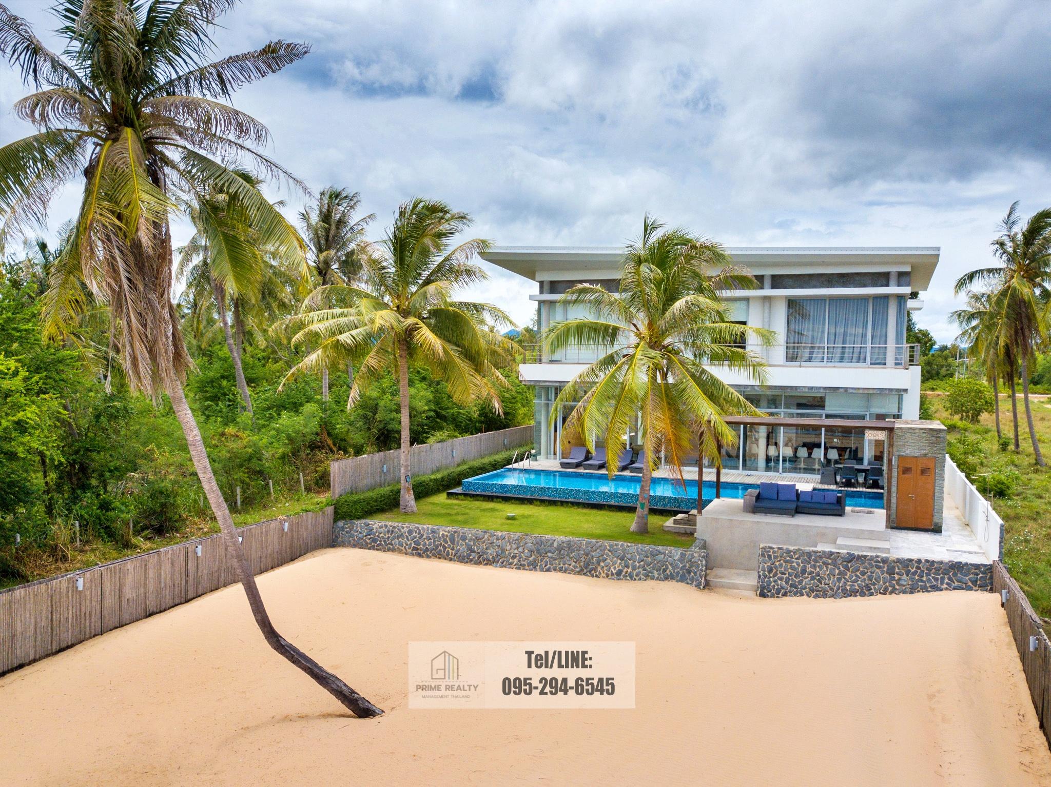 ขายบ้านติดทะเลกุยบุรี Beachfront For Sale @Kuibuiri